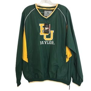 NWT Colosseum Athletics Baylor Pullover Jacket M